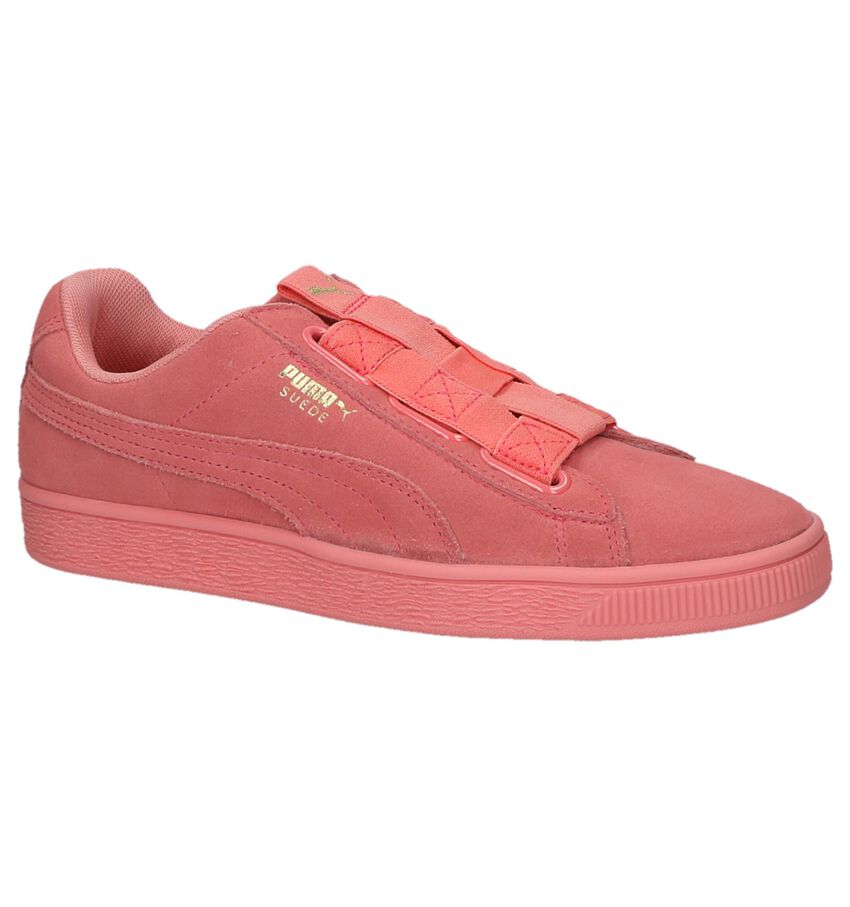 Roze Sneakers Puma Suede Maze
