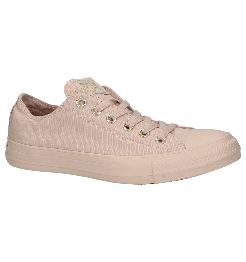 Lage Sportieve Sneakers Roze Converse Chuck Taylor All Ox