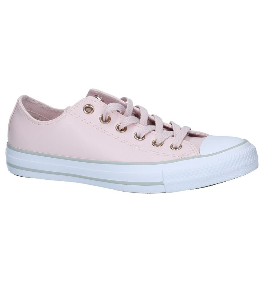 Roze Lage Sportieve Sneakers Converse Chuck Taylor All Star Ox
