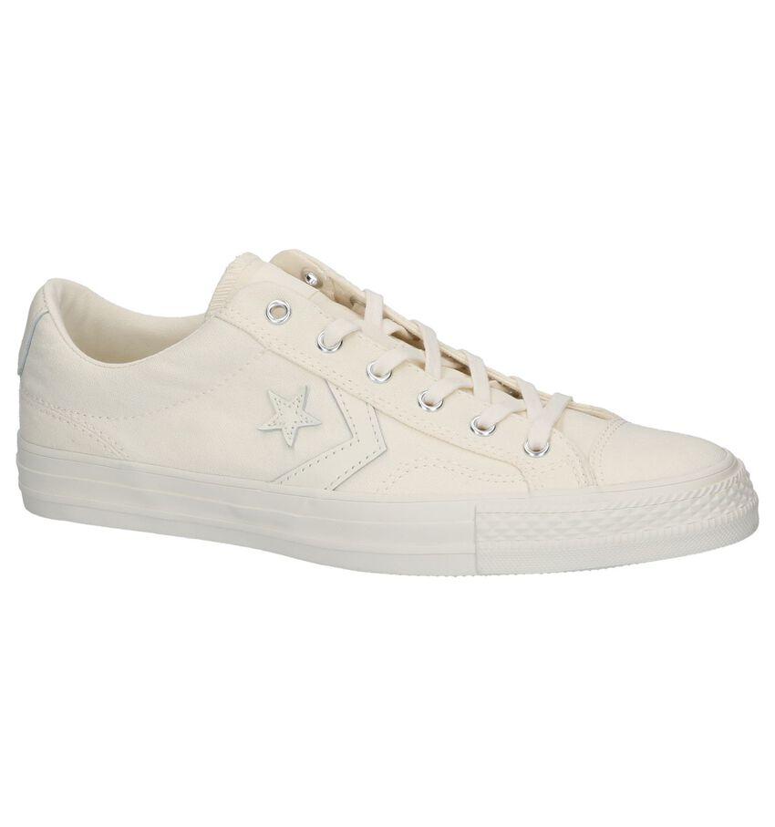 Ecru Sneakers Converse Star Player OX