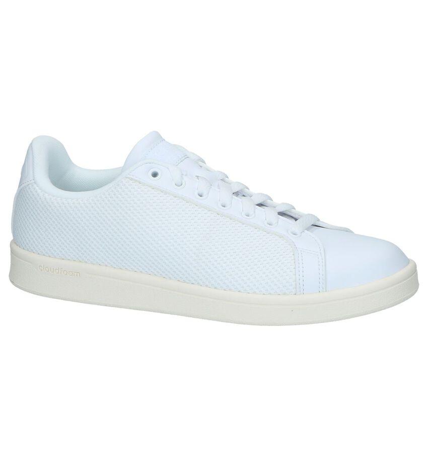 Witte Sneakers Adidas Cloudfoam Advantage Clean
