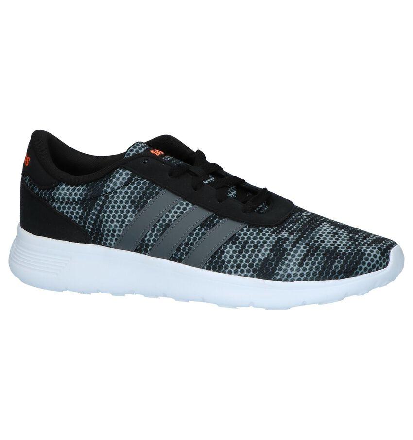 Adidas Lite Racer Runner Sneakers Grijs met Tekening