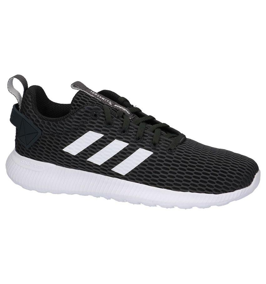 Donkergrijze Adidas CF Lite Racer CC Sneakers