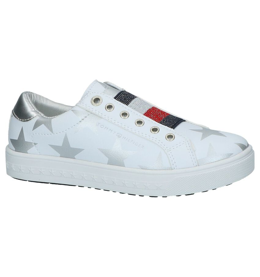 Witte Slip-on Sneakers Tommy Hilfiger Stars