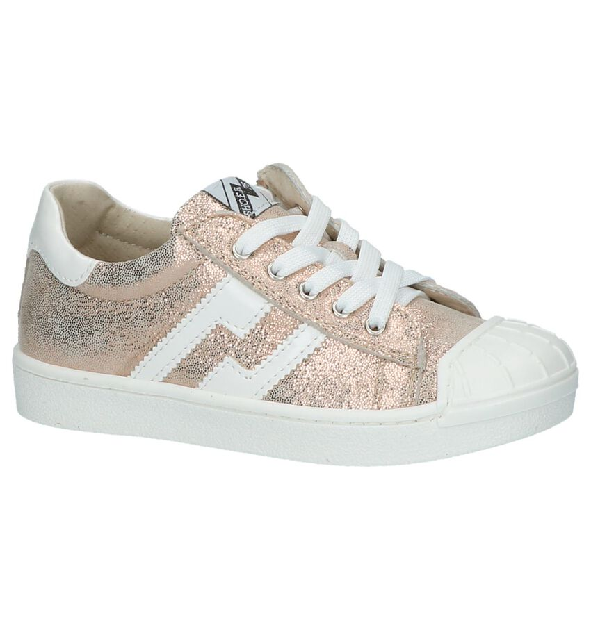 Rose Gold SHO.E.B.76 Veterschoen met Rits