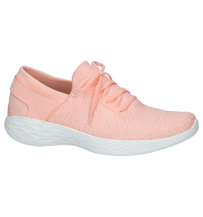 You by Skechers Zalm Roze Slip-on Sneakers