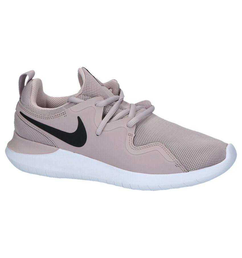 Nike Tessen Roze Sneakers