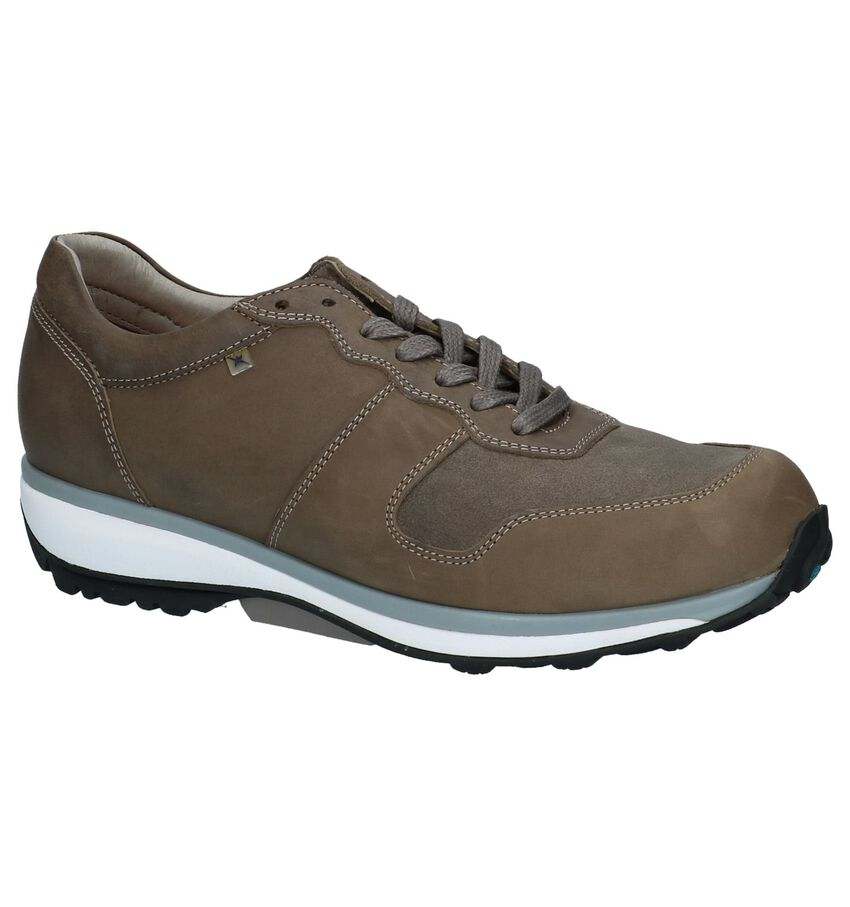 Xsensible Boston Taupe Veterschoenen