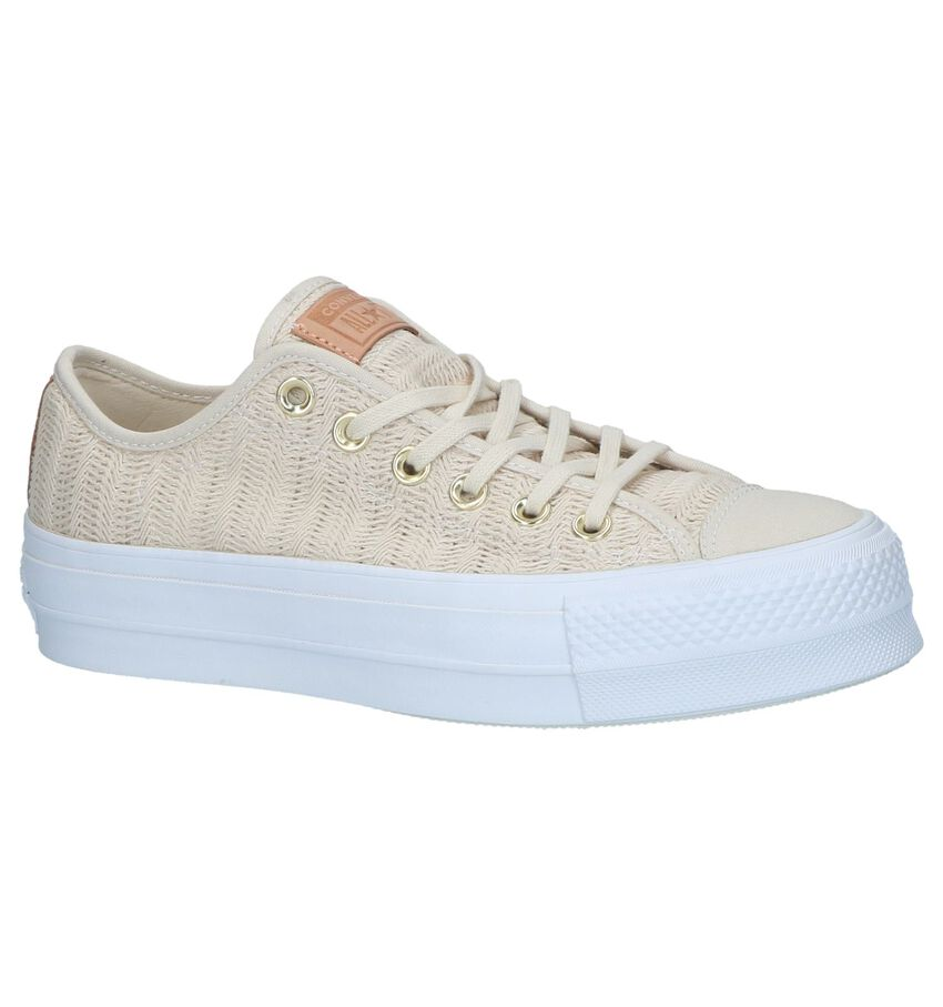 Converse Chuck Taylor All Star Lift Beige Sneakers