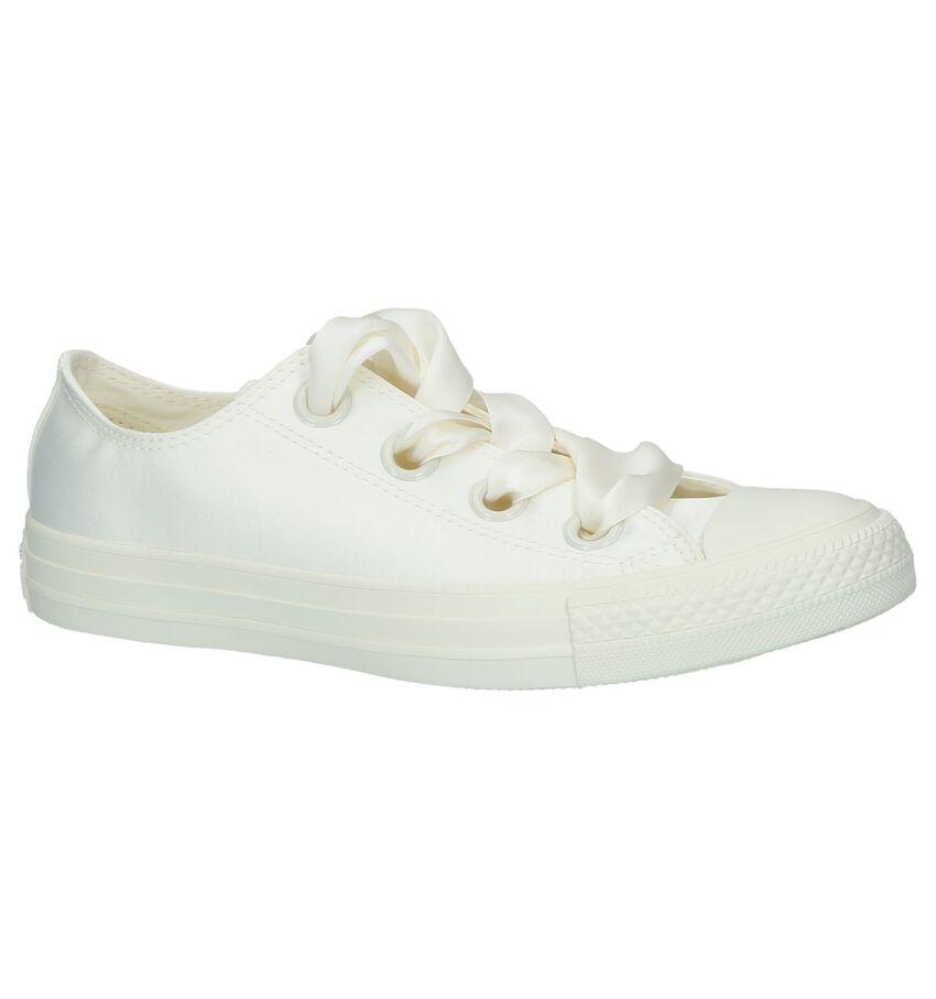 Ecru Converse Chuck Taylor All Star Big Eyelets OX Sneakers