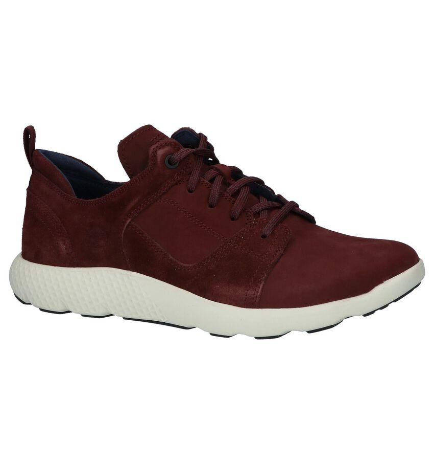 Lage Sportieve Sneakers Bordeaux Timberland Flyroam Leather