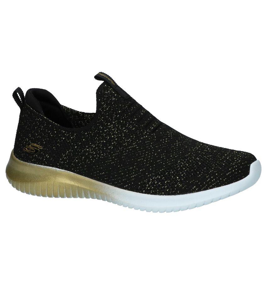 Slip-on Sneakers Skechers Zwart met Goud