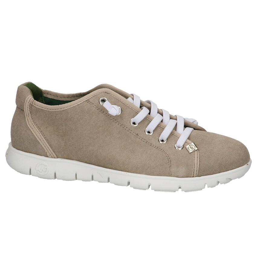 Slowwalk Teemo Taupe Veterschoenen
