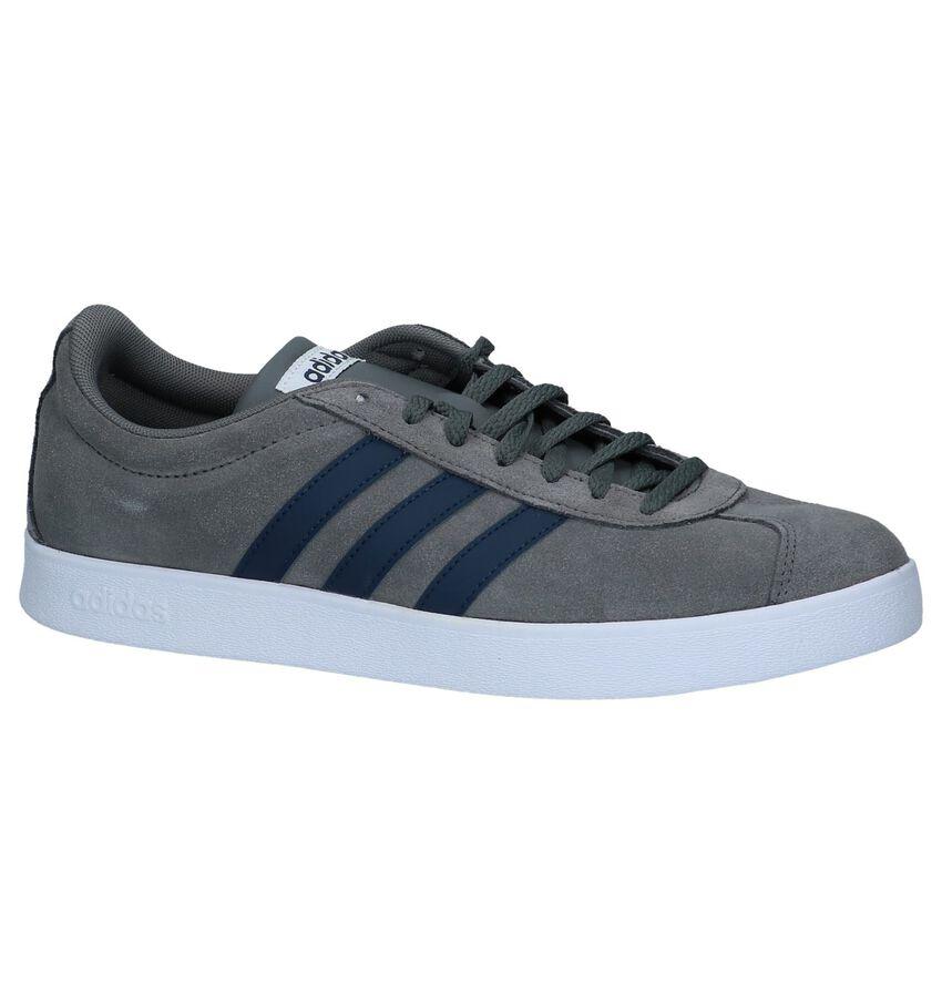 Grijze Sneakers Adidas VL Court 2.0
