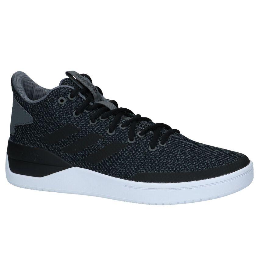 adidas Donker Grijze Hoge Sneakers