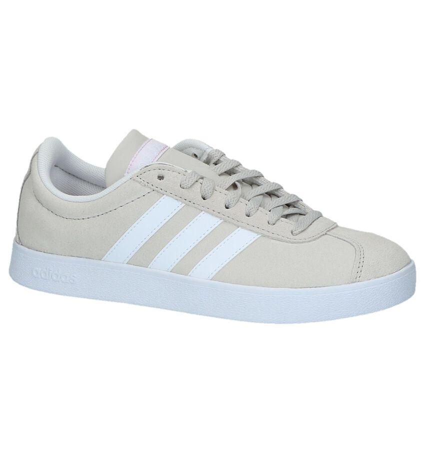 Lichtbeige Sneakers adidas VL Court 2.0