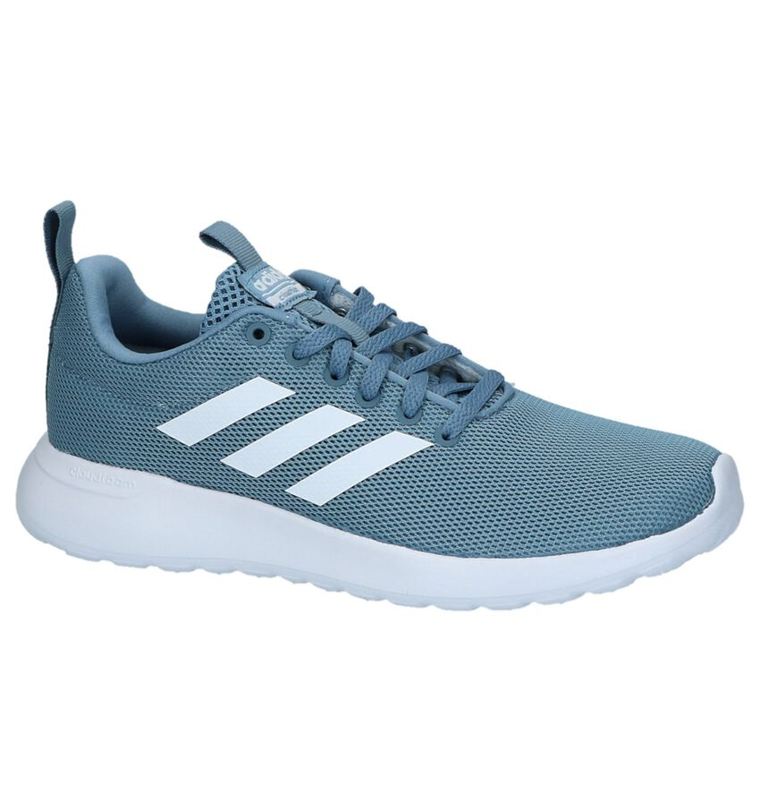 Lichtblauwe Adidas Lite Racer CLN W Sneakers