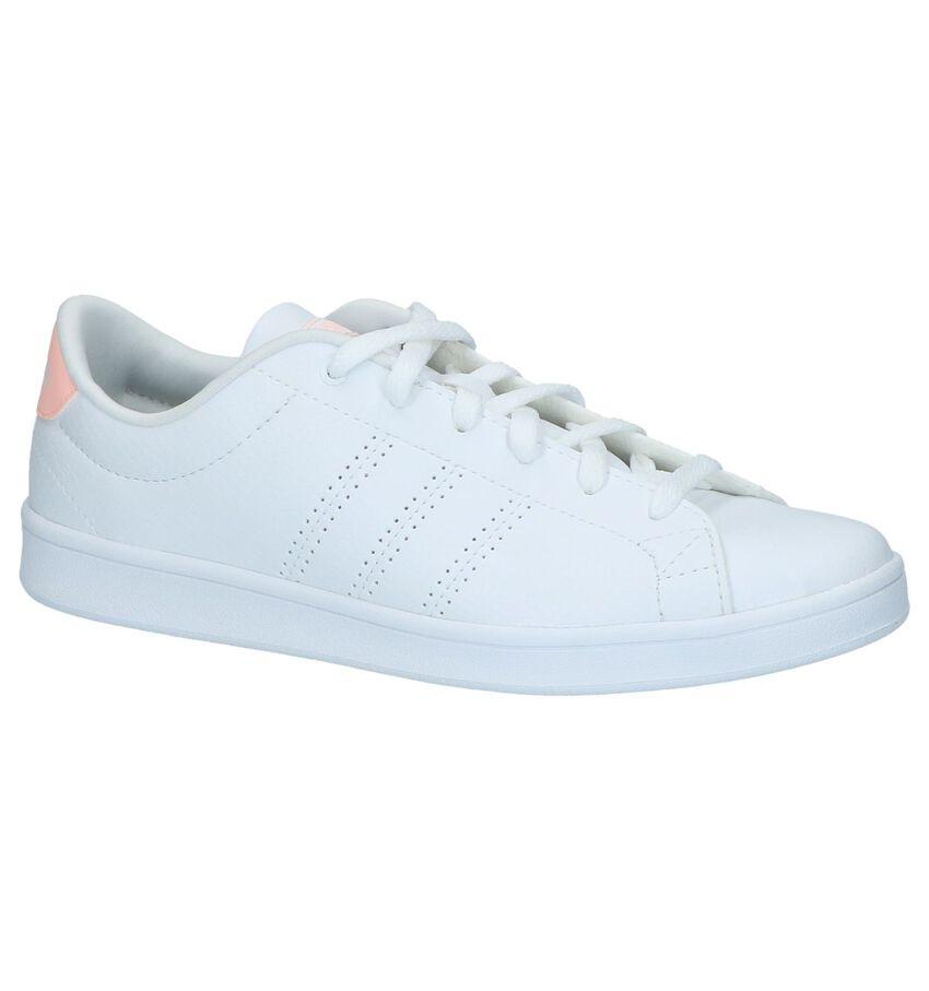 Witte Sneakers Adidas Advantage Clean QT