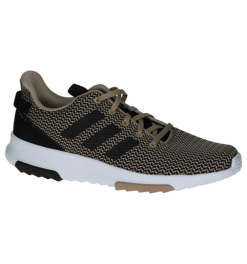 adidas CF Racer TR Licht Beige Sneakers