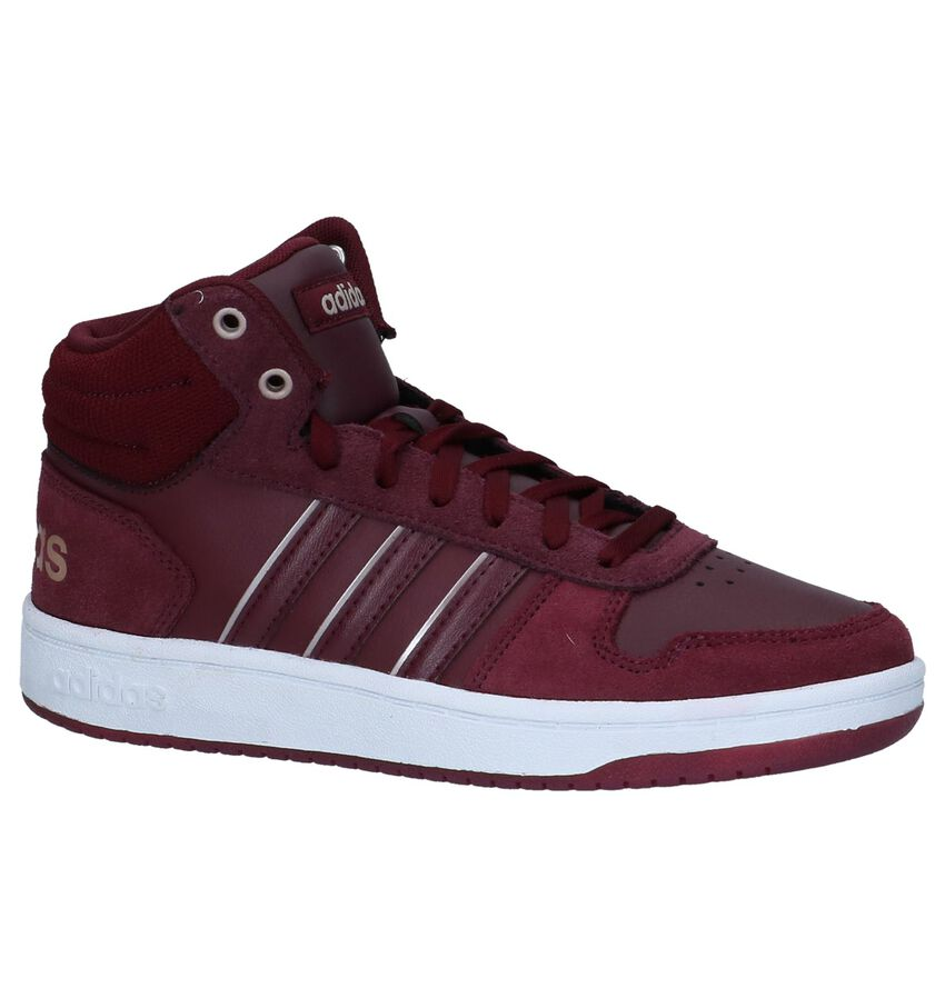 Hoge Sneakers Bordeaux adidas Hoops 2.0