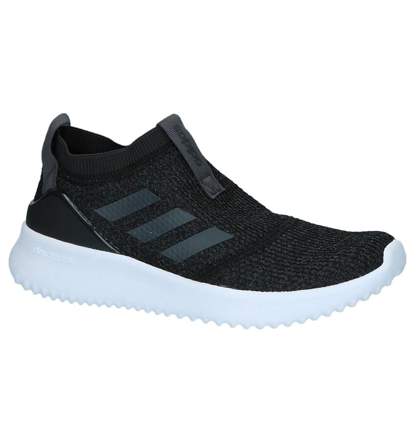 Donkergrijze Slip-On Sneakers Adidas Ultimafusion