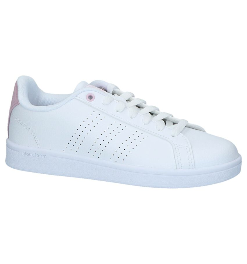 Sneakers Adidas Advantage Clean CL W Wit
