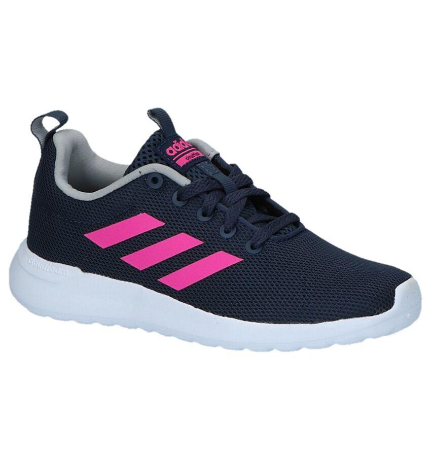 Blauwe Sneakers adidas Lite Racer CLN K