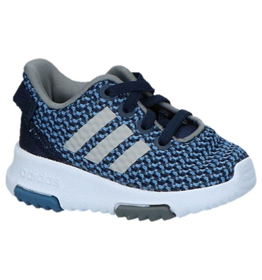 Blauwe Sneakers adidas Racer TR