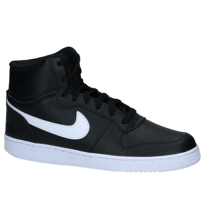 b9c936c3f95 Nike Ebernon Mid Herenschoen Zwart - Herenschoenensales.nl