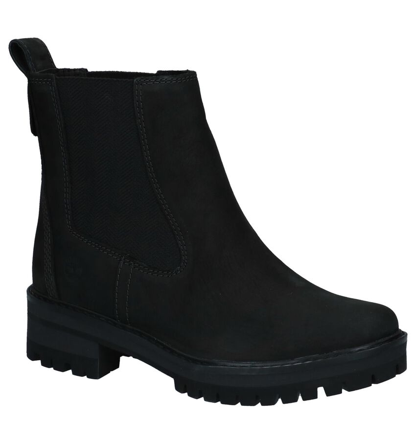 Timberland Courmayeur Valley Zwarte Chelsea Boots