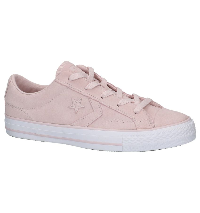 Lichtroze Lage Sportieve Sneakers Converse Star Player Ox