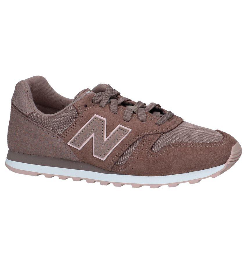 Donkerroze New Balance WL373 Lage Sneakers