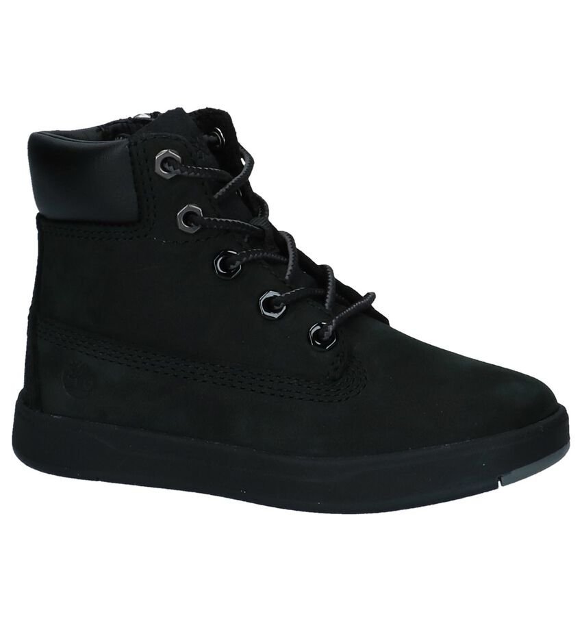 Timberland Davis Square 6 Inch Zwarte Boots