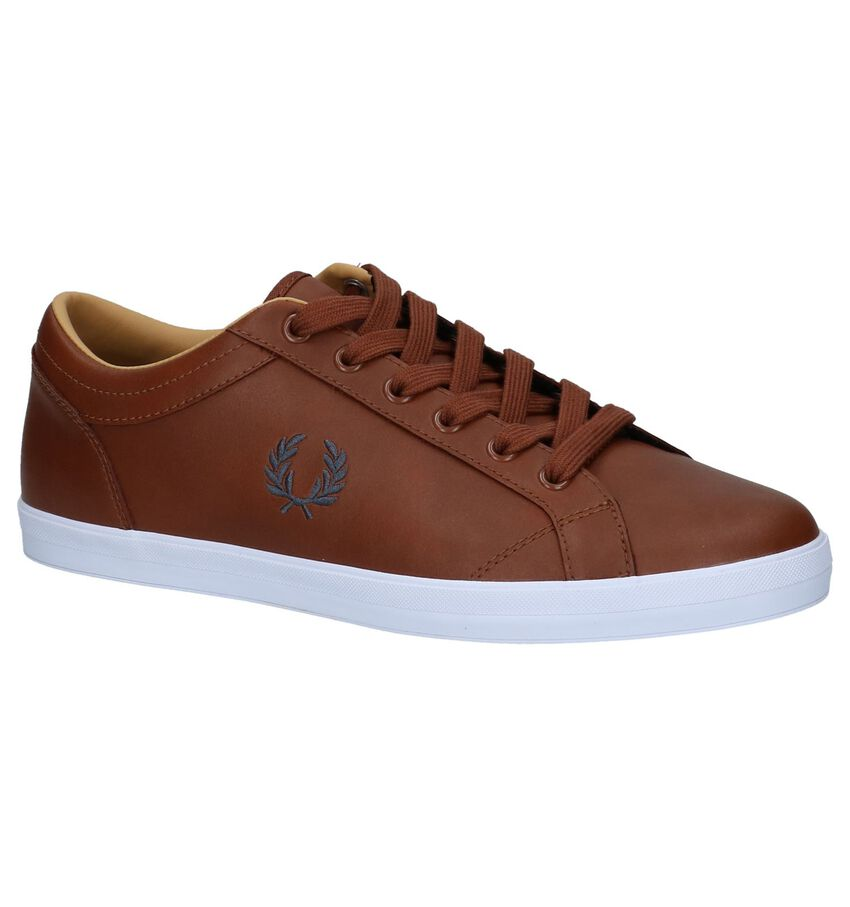 Casual Veterschoenen Fred Perry Cognac