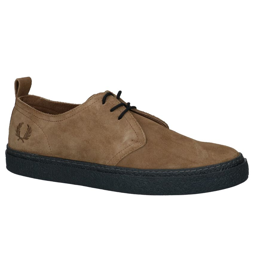 Cognac Casual Veterschoenen Fred Perry