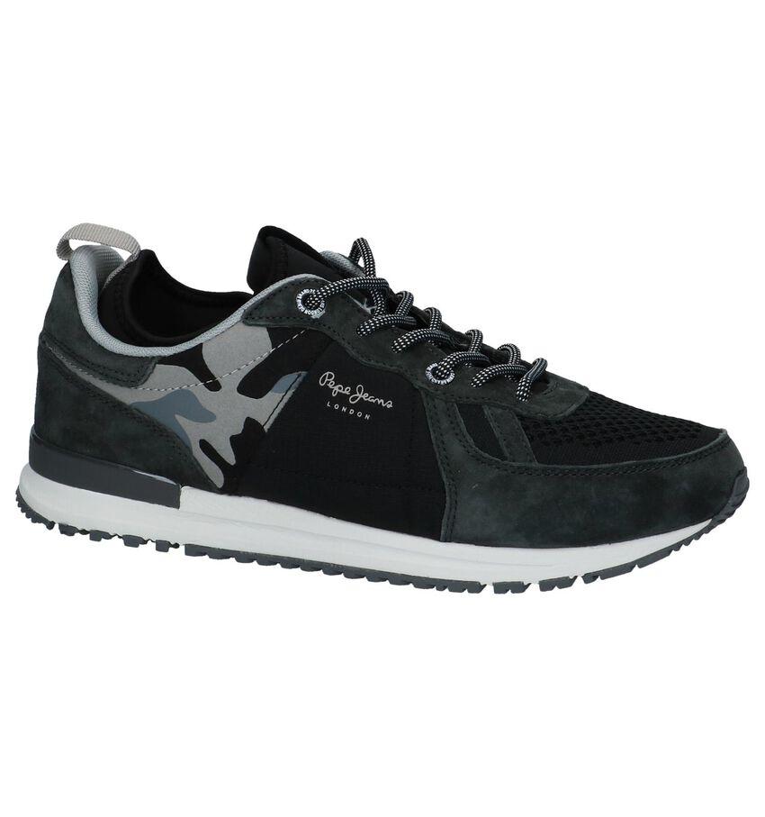 Pepe Jeans Donker Grijze Sneakers