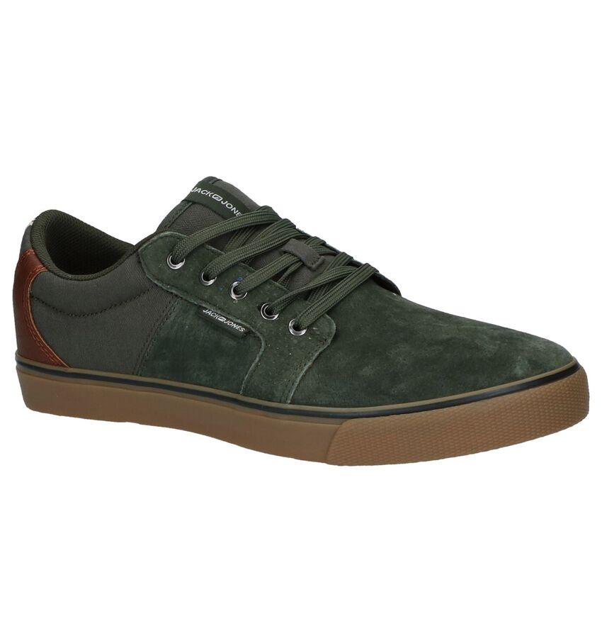 Jack & Jones Banda Groene Lage Geklede Sneakers