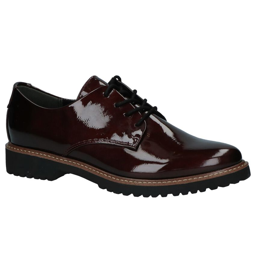 Marco Tozzi Bordeaux Oxford Veterschoenen