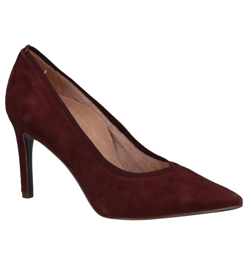 Pumps met Hoge Hak Bordeaux Tamaris Heart & Sole