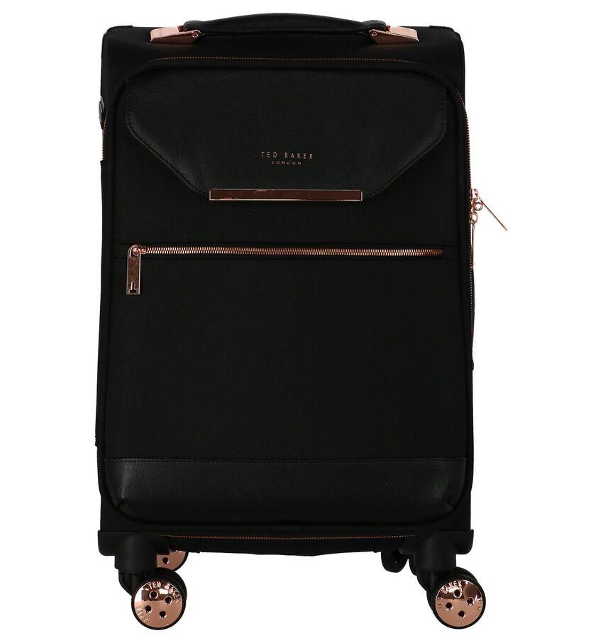 Zwarte Trolley Handbagage Ted Baker