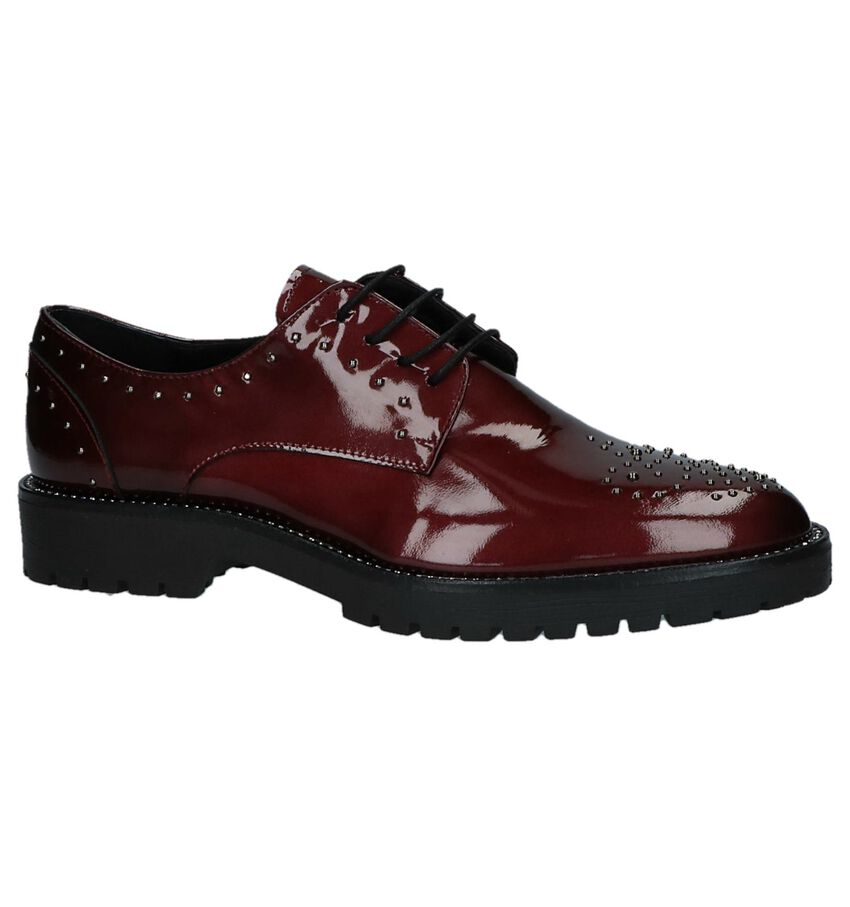 Hampton Bays by Torfs Bordeaux Oxford Veterschoenen met Studs