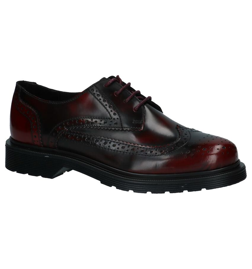 Bronx Bordeaux Oxford Veterschoenen