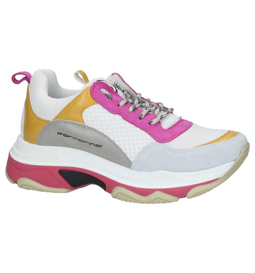 Meerkleurige Lage Sportieve Sneakers Fornarina Super4