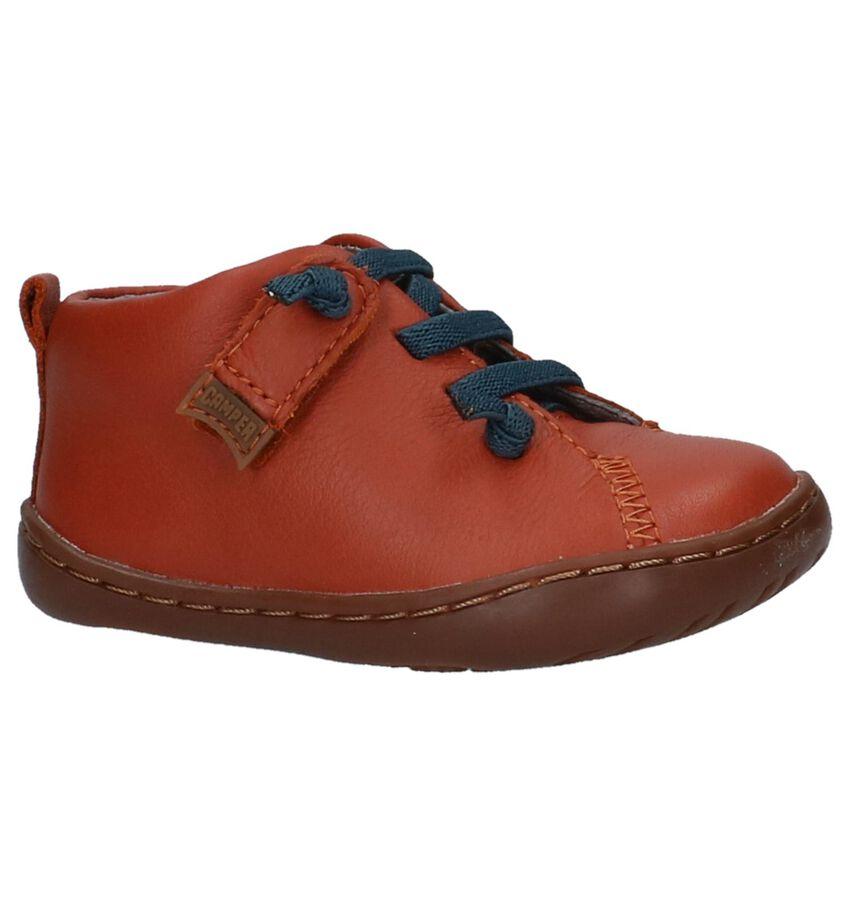 Camper Oranje Hoge Schoentjes