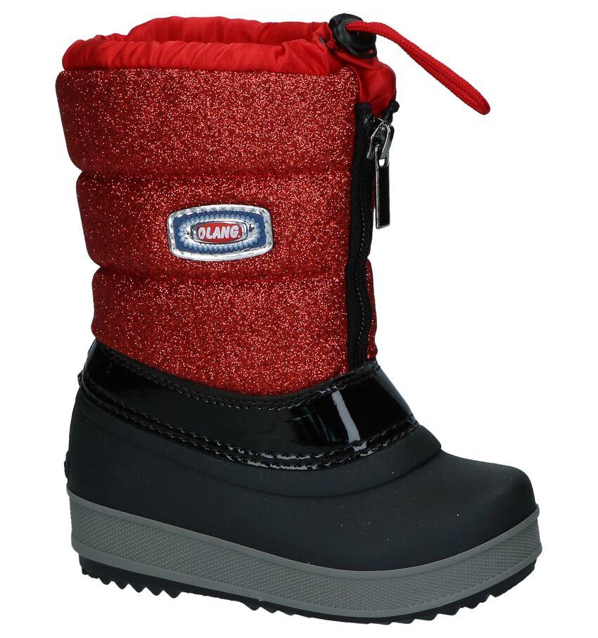 Rood-Zwarte Snowboots Olang Ol Bingo Lux