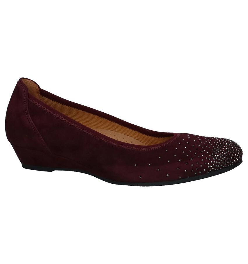 Gabor Easy Walking Bordeaux Pumps