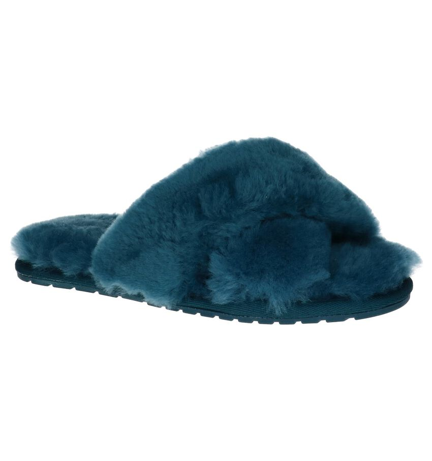 EMU Mayberry Turquoise Pantoffels