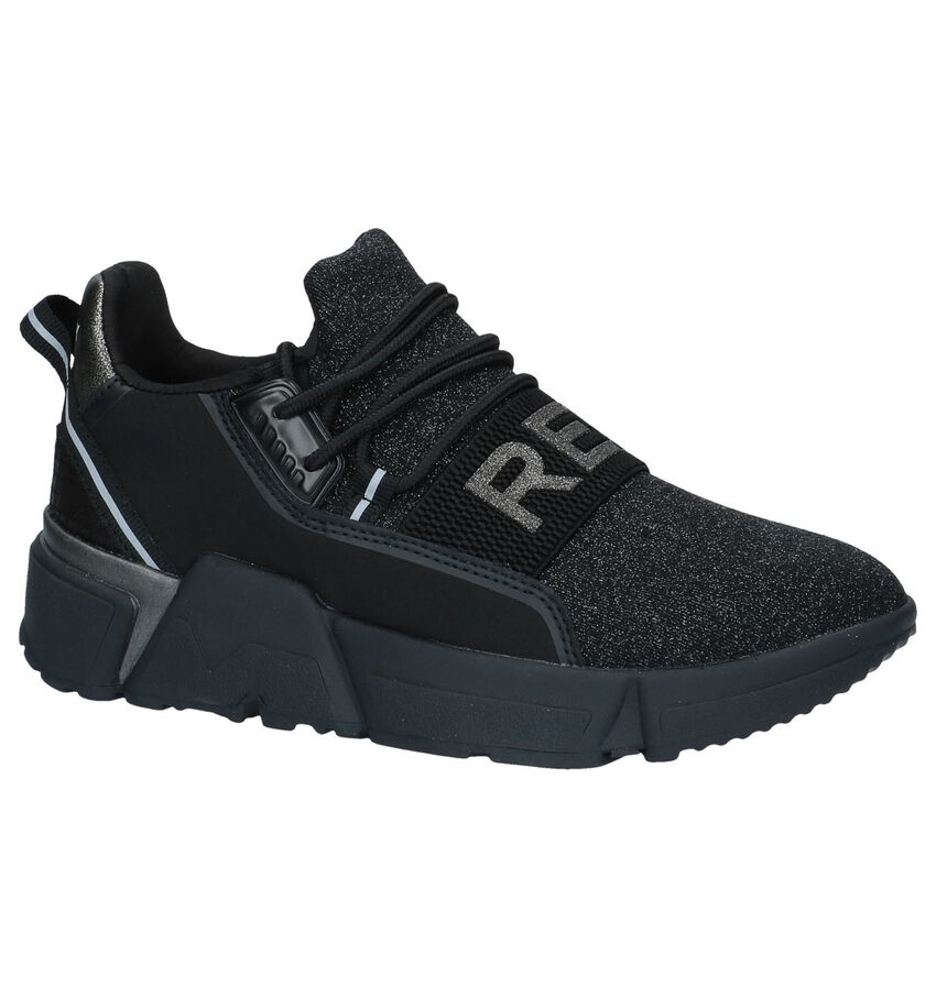 Replay Zwarte Slip-on Sneakers
