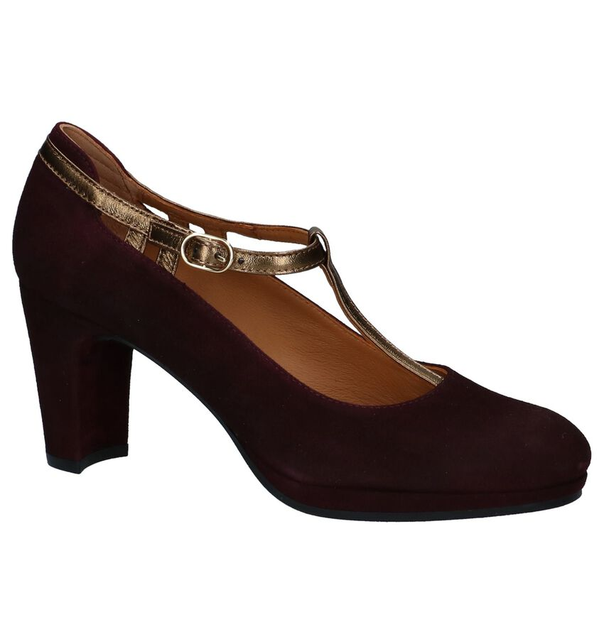 Bordeaux Pumps met Bandje JHay