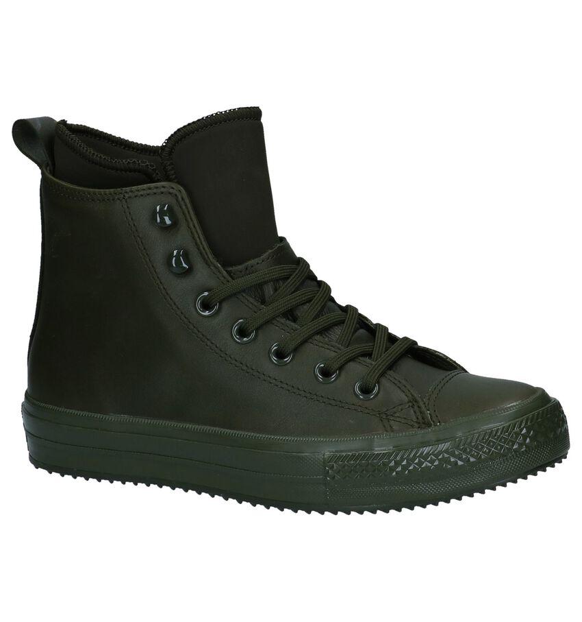Converse All Star WP Boot Olijfgroene Slip-on Sneakers